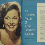 Article from Modern Screen: The Shocking Failure of Susan Hayward's Marriage