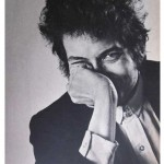 Classic photo of Bob Dylan from the 1967 Photography Annual
