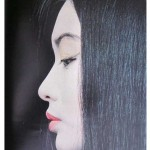 Classic profile photo of a Geisha
