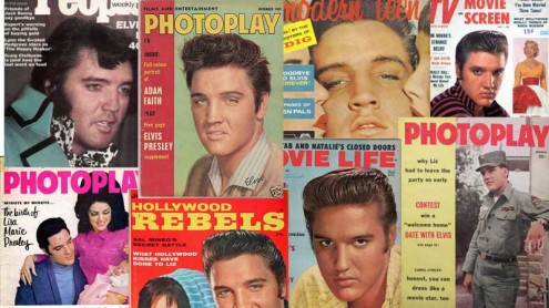 Elvis Presley magazine covers