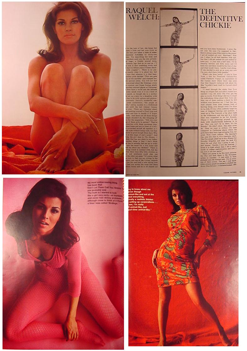Raquel Welch Pictorial in Esquire