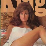 Raquel welch on the cover of British magazine King
