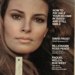 Raquel Welch on cover of Look Magazine