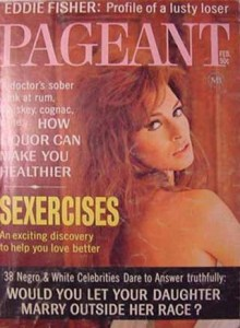 Raquel Welch Cover - Pageant 1968