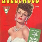 Rita Hayworth on the cover of Hollywood Magazine