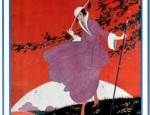 Vogue Magazine Cover Art from March 1916 issue
