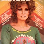 Motion Picture Magazine cover of Raquel Welch