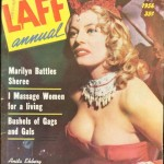 Anita Ekburg on cover of LAFF magazine
