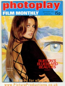 Film Monthly: Raquel Welch Cover