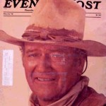 Saturday Evening Post: March 1976 - John Wayne Cover