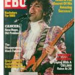 Prince on the cover of Ebony Magazine - June, 1985