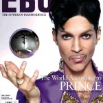 Prince on the cover of Ebony Magazine - July, 2010
