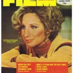 Barbara Streisand on the cover of Film Review Magazine - 1975