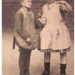 Depression era photo of young children
