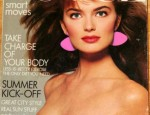 Paulina Porizkova Cover photographed by Richard Avedon