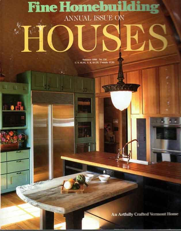 Fine home building houses annual 1998 for Fine homebuilding houses