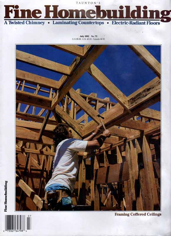 Fine home building magazine archive for Www finehomebuilding com