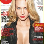 GQ January Jones Cover