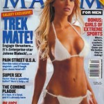 Maxim 2001 January Jones Cover