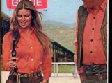 Raquel Welch and John Wayne on cover of TV Guide
