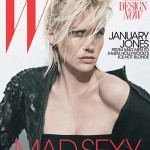 W Alternate Cover - January Jones